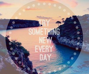 blue, pink, and quotes image