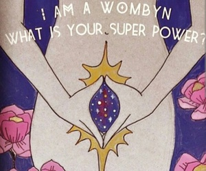 super power, woman, and wombyn image