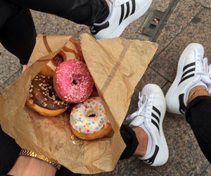 donuts, adidas, and carefree image