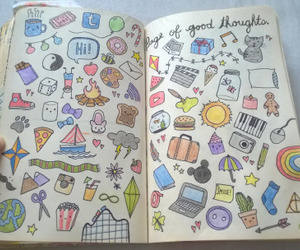 art, creative, and doodles image