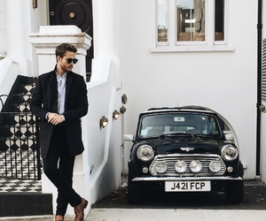 fashion, boy, and car image