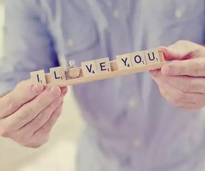 love, ring, and I Love You image
