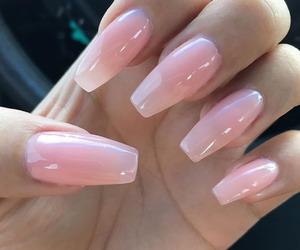 beautiful, long nails, and manicure image