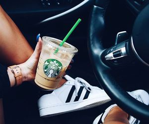 adidas, starbucks, and coffee image
