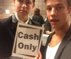 cash, cameron dallas, and nash grier image