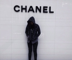 black, chanel, and grunge image