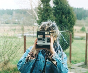 camera, nature, and girl image