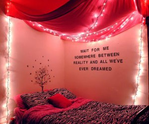 lights, pretty, and room image