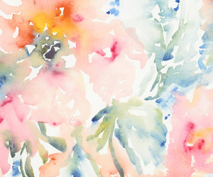 art prints, flowers, and girly image
