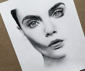 cara delevingne, art, and artist image