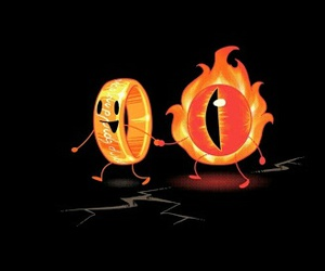 lord of the rings, sauron, and LOTR image