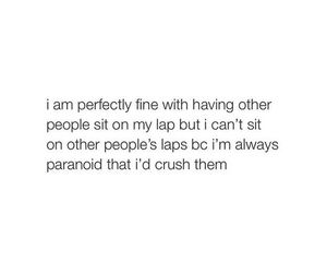 crush, lap, and quote image