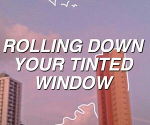 aesthetic, indie, and lyric image