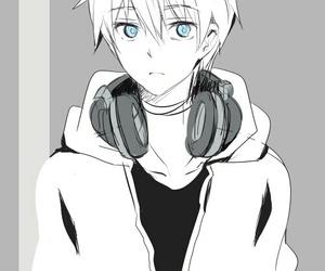 27 Images About Manga Boys With Headphones On We Heart It See More