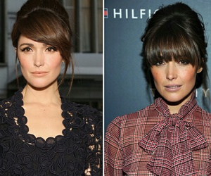 bangs, hairstyles, and rose byrne image