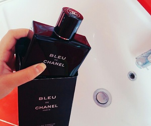 blck, blue, and chanel image