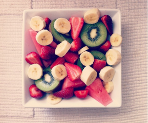 fruit, food, and strawberry image
