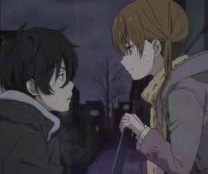anime, haru, and tonari no kaibutsu-kun image