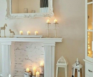 candles, decor, and home decor image