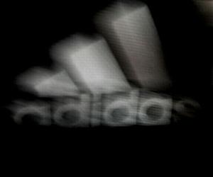 adidas, dark, and grunge image