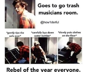 Harry Styles, one direction, and rebel image