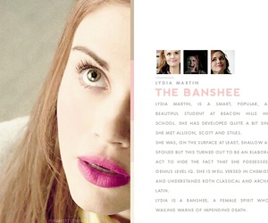 teen wolf, lydia martin, and banshee image
