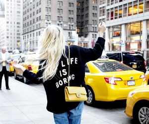 girl, blonde, and chanel image