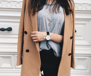 coat, outfit, and style image