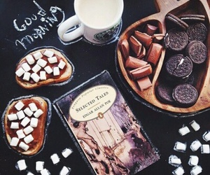 sweet, book, and food image