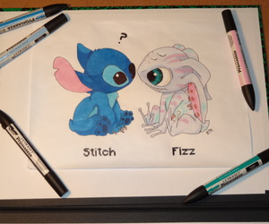 disney, drawing, and fizz image