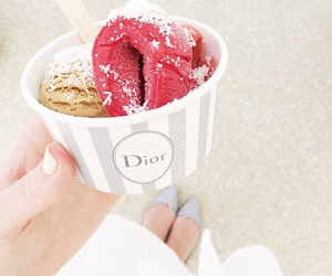food, dior, and fashion image