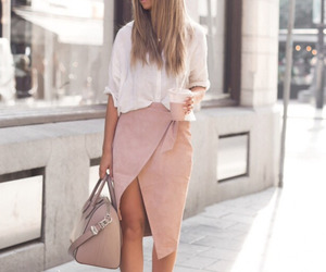 fashion, office, and pink image