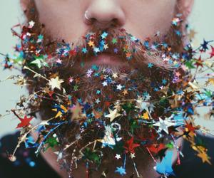 stars, beard, and man image