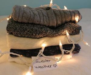 sweater, christmas, and fashion image