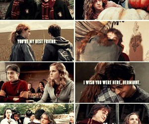 always, hermione grenger, and harry potter image