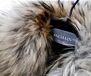 fashion, fur, and Balmain image