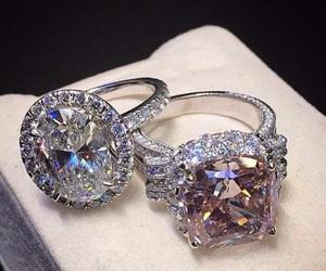 ring, diamond, and luxury image