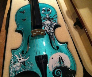 violin, music, and blue image