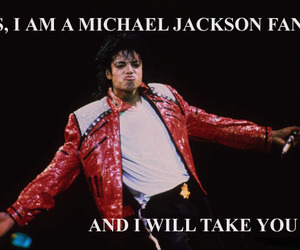 beat it, fandom, and king of pop image