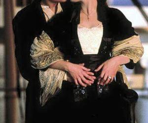 titanic, love, and kiss image