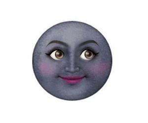 moon sun, اقتباسً, and emoji emojis image