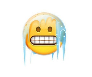 cold and emoji image