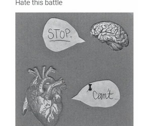 battle, heart, and brain image