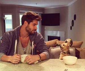 dog, boy, and nick bateman image