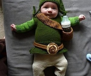 baby, link, and funny image