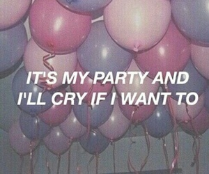 cry baby, pity party, and pastel colours image