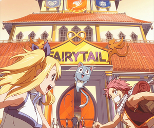 fairy tail, happy, and anime image