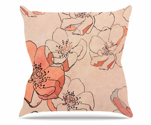 coral, pillow, and cushion image