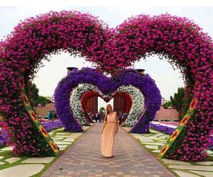 beautiful, girl, and heart image