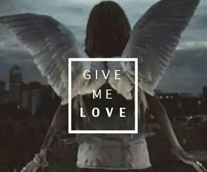 ed sheeran, give me love, and angel image